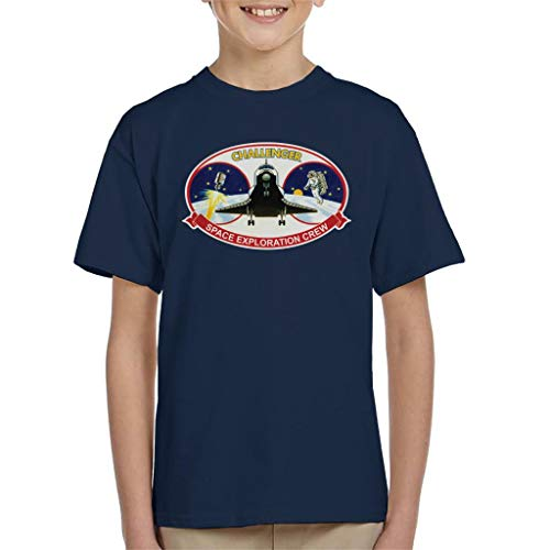 NASA STS 41B Challenger Mission Patch Kid's T-Shirt