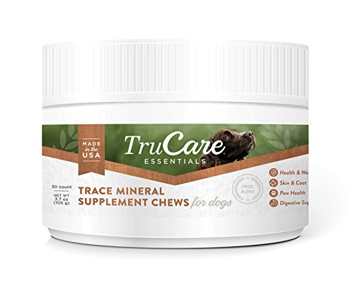 TruCare Essentials Trace Mineral Supplement Chews for Dogs, 30 Count Jar (Zinc, Biotin, Vitamin A) by TruCare (Image #9)