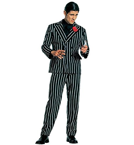 Italian Costume Mob (Mens Gangster Costume Medium Uk 40/42