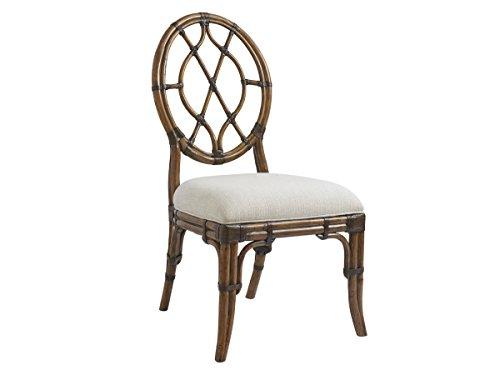 Bali Hai - Cedar Key Oval Back Side - Bali Dining Chair