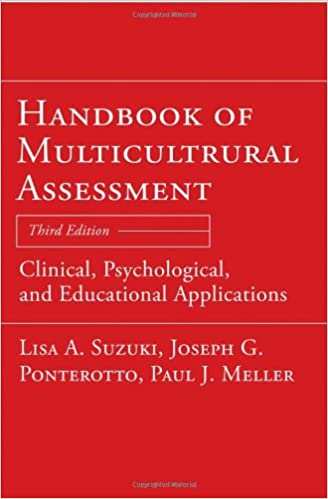 Handbook of multicultural assessment clinical psychological and handbook of multicultural assessment clinical psychological and educational applications 3rd edition fandeluxe Image collections
