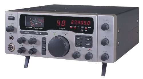Galaxy DX-2547 AM/SSB CB Base Station w/ Freq Counter, Talkback & Roger Beep Citizen External Power Supply