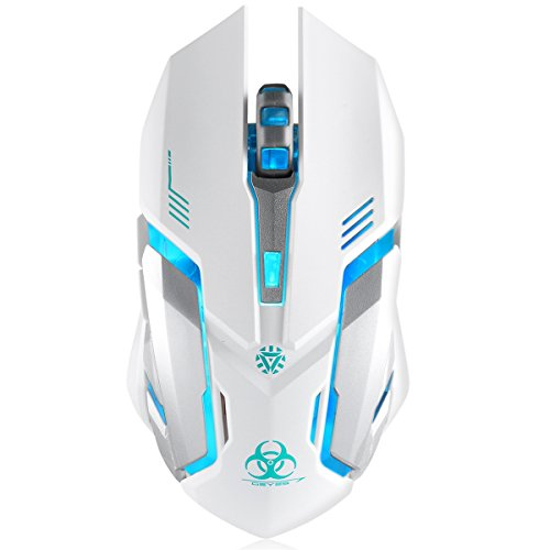 Wireless-Gaming-Mouse-VEGCOO-C8-Silent-Click-Wireless-Rechargeable-Mouse-with-Colorful-LED-Lights-and-240016001000-DPI-1000mAh-Lithium-Battery-for-Laptop-and-Computer-C9-White