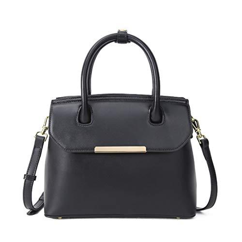 Cuir Tote Sacs Black Messenger À Houyazhan Bags color Main Véritable Pour Femmes Brown En Épaule xB1ddq0wvg
