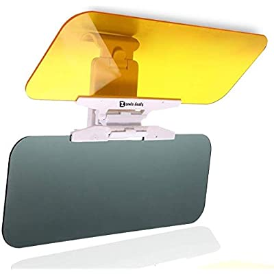 Zento Deals Transparent Windshield Car Sun Visor Day and Night Vision Anti-glare: Automotive