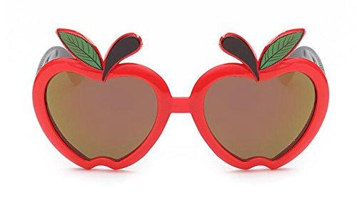Femmes Rond Steampunk Style Métallique du Rouge Cercle Retro Soleil de Polarisées Pour en Lunettes Cadre Hommes Inspirées et xXw4P0Zvvq