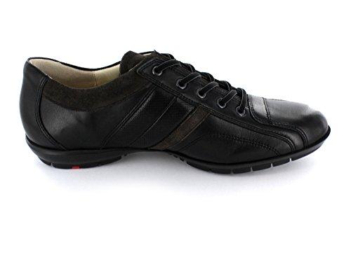 LLoyd Albano Schnürschuh schwarzu sportlich leicht, Farbe:schwarz;Größe:45