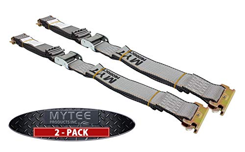 (Mytee Products (2 Pack) E Track Cam Buckle Straps 2