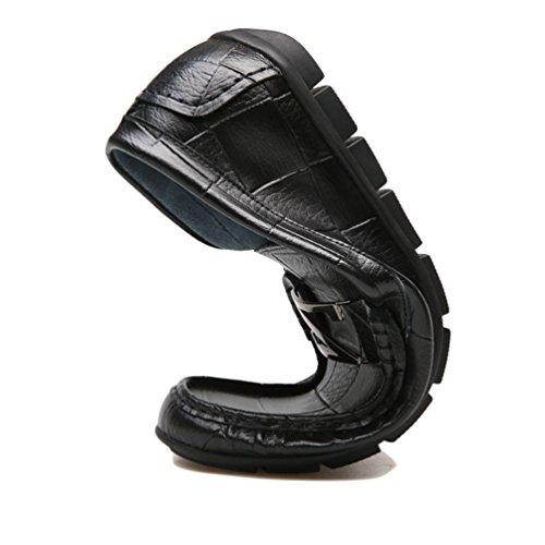 Zapatos Feidaeu Sintético de Hombre Negro O4dwHzpqn4