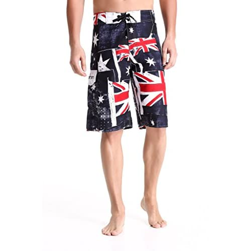 Clothin Men's Quick Dry Surfing Boardshorts with Pocket - 41t8zFVhJ2L. SS500 - Getting Down Under Sports and Outdoors