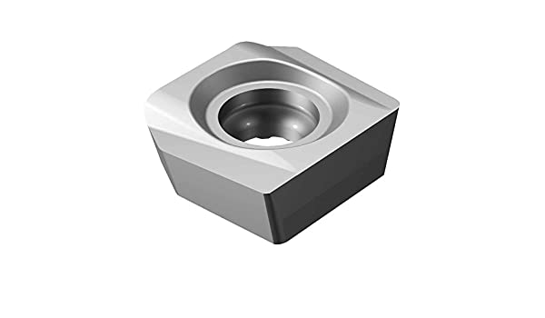 Pack of 10 Right Hand Cut 1130 Grade Wiper AlTiCrN Carbide Sandvik Coromant R590-110504H-PTW 1130 Coro Mill Century Insert for Milling Zertivo Technology