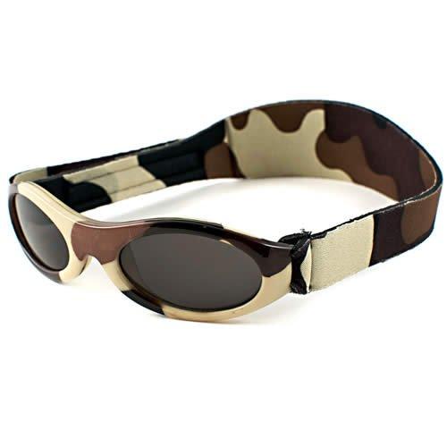 cf74f559cd83 Amazon.com  BANZ  Adventure BanZ - Baby  Brown Camo Kids Sunglasses ...