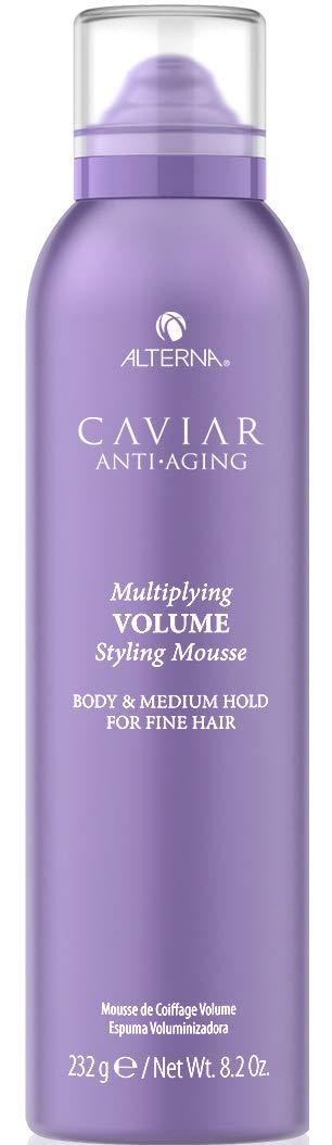 CAVIAR Anti-Aging Multiplying Volume Styling Mousse, 8.2-Ounce by ALTERNA