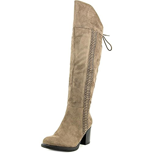 Fashion Closed Toe Rag Womens Knee Truffle High Boots American Aleonna w0HxnB0