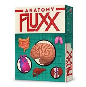 Fluxx Anatomy Card Game - Anatomy Game
