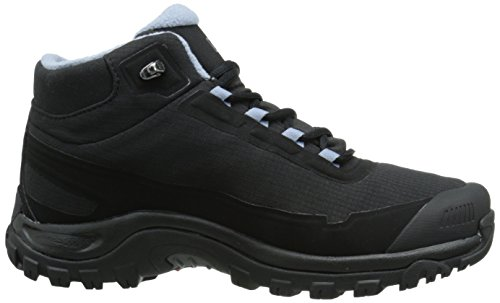De Salomon Wp Shelter Randonnée Bottines Cs black Schwarz stone black Blue Femme Noir qppHwRInr