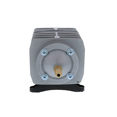 EcoPlus 793 GPH (3000 LPH, 18W) Commercial Air Pump w/ 6 Valves | Aquarium, Fish Tank, Fountain, Pond, Hydroponics by EcoPlus (Image #3)