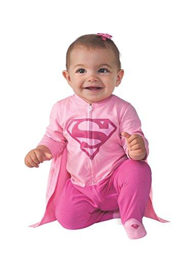 Rubie's Baby Girl's DC Comics Superhero Style Baby Supergirl Costume, Multi, 6-12 -