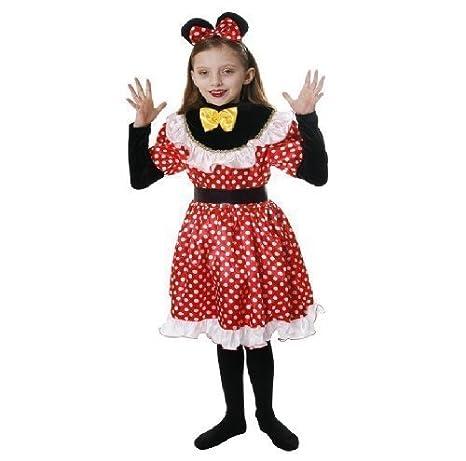 NUEVO Minnie Mouse infantil Disfraz 10-12: Amazon.es: Juguetes y ...