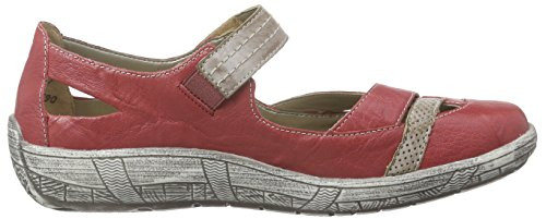 Remonte D3805 - Bailarinas Mujer Rojo - Rot (rosso/steel/fire / 33)