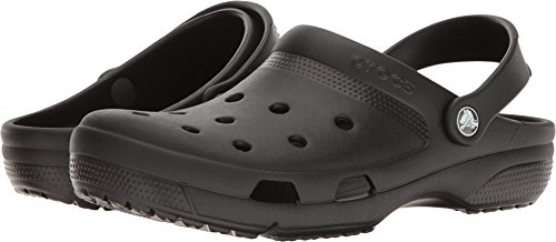 Crocs Unisex Coast Clog Black 8 Women / 6 Men M US