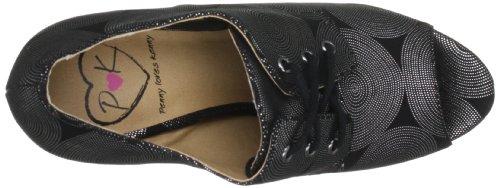 Penny Loves Kenny - Zapatos de Cordones Mujer Plata
