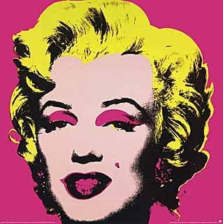 Andy Warhol Marilyn Monroe Art Poster Print  Custom Framed