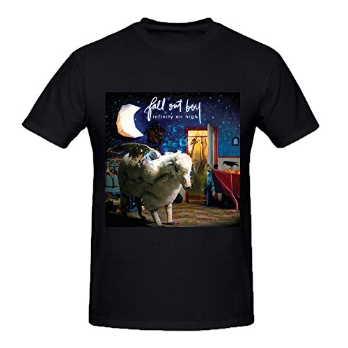 Fall Out Boy Infinity On High Comfot Round Neck T Shirt For Men Black