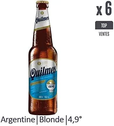 QUILMES 6 x 34 cl.