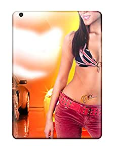 Unique Design Ipad Air Durable Tpu Cases Covers Cars And Girls