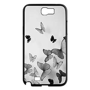 Butterfly ZLB537992 Custom Phone Case for Samsung Galaxy Note 2 N7100, Samsung Galaxy Note 2 N7100 Case