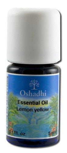 Oshadhi Essential Oil Singles Lemon, Yellow 5 mL