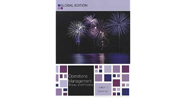 Operations management theory and practice global edition 11th operations management theory and practice global edition 11th eleventh edition by stevenson william j published by mcgraw hill higher education 2011 fandeluxe Image collections