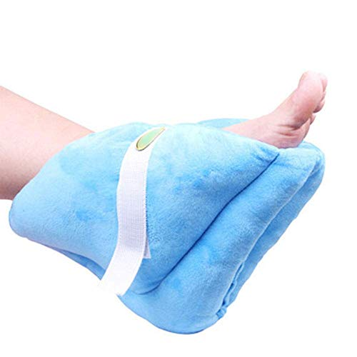 Foot Support Pillow,Heel Cushion Protector Pillow for Relieveing Foot Pressure,1Piece,Blue