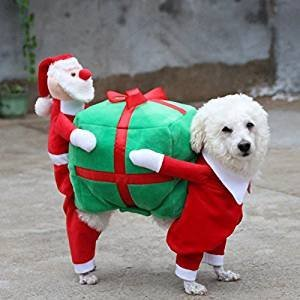 [Funny Christmas Puppy Costume For Small Dogs (S)] (Army Dog Costumes)