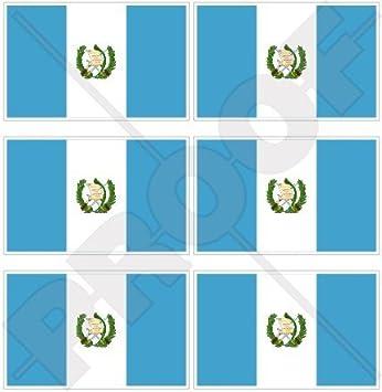 "Guatemala Bandera de Guatemala América Central 40 mm (1,6 "") Mobile"