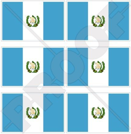 Guatemala Bandera de Guatemala América Central 40 mm (1, 6 ...
