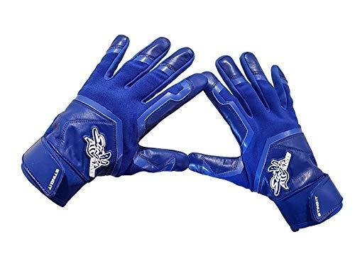 Stinger Royal Blue Color Crush All Royal Blue Batting Gloves for Baseball /& Softball