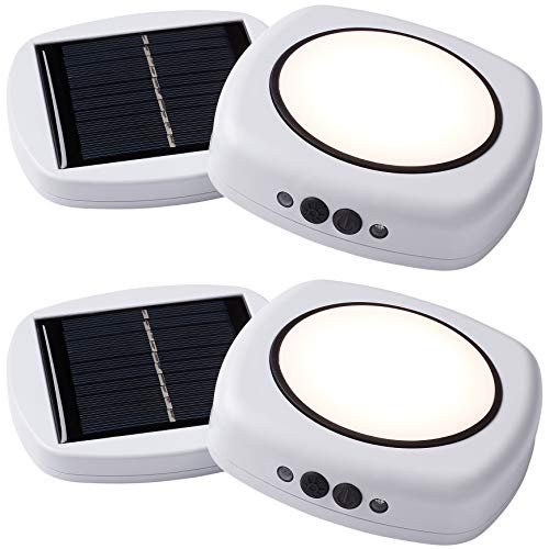- Infinity X1 OS1-02 Solar Tent Light for Camping, Umbrellas, and Emergencies | Hybrid Battery LED Lantern for Outdoors, Hiking, Fishing, and Power Outages, 2-Pack