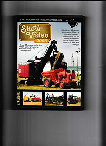 HCEA Show Video 2006 (Historical Construction Equipment Association)