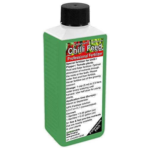 Chilli Pepper (Capsicum) Tomato (Solanum) Liquid Fertilizer HighTech NPK, Root, Soil, Foliar, Fertiliser - Plant Food