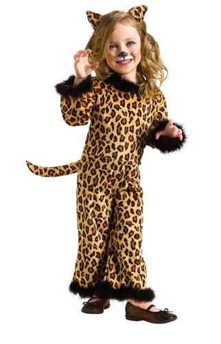 Toddler Pretty Leopard (Large (3T - 4T)) ()