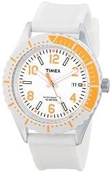 Timex Unisex T2P0079J Originals Modern Sport White Silicone Strap Watch