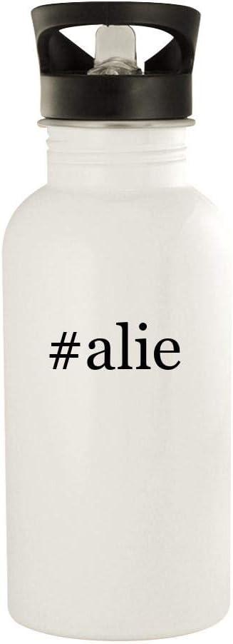 #alie - 20oz Stainless Steel Water Bottle, White