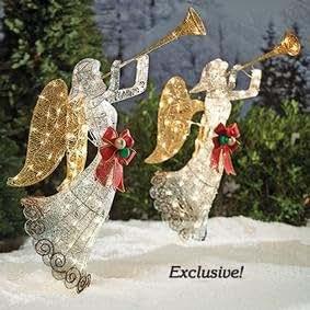Holiday Decor-Lighted Angel