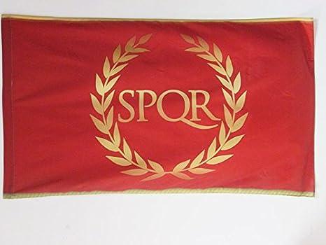 AZ FLAG Bandera del Imperio Romano 90x60cm para Palo - Bandera SPQR 60 x 90 cm: Amazon.es: Hogar
