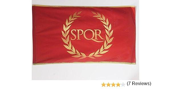 AZ FLAG Bandera del Imperio Romano 90x60cm para Palo - Bandera ...