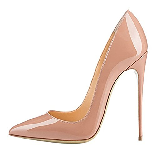 Nude shoes high MIUINCY shoes heels heels ladies classic high party sexy wedding gg0P4X