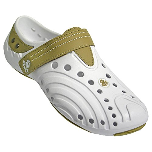 Dawgs Men's Premium Spirit Shoe White/Tan DA-MSPIRITWTN010MED