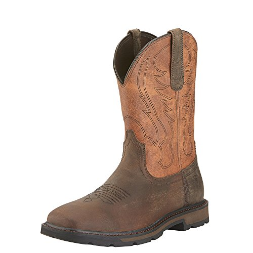 Ariat Work Boots Mens Groundbreaker Sq Toe 10015188